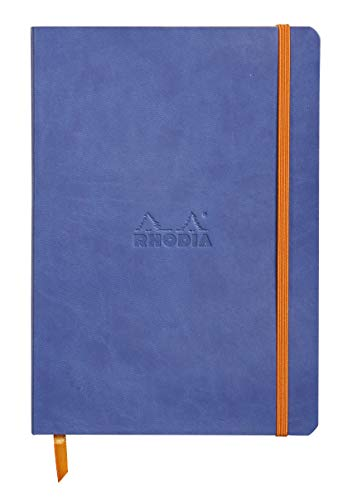 Rhodia Color Soft Cover Goalbook - Cuaderno Flexible, A5, Zafiro