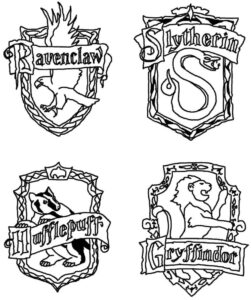 plantillas harry potter 7