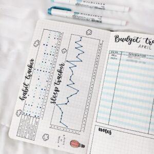 bullet journal minimalista tracker 2