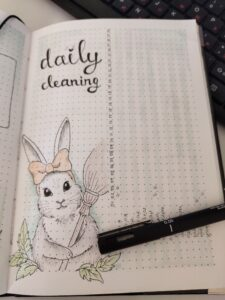 bullet journal animales tracking