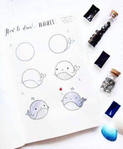 bullet journal doodles 12