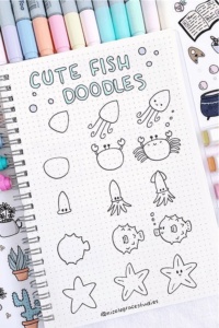 bullet journal doodles 2