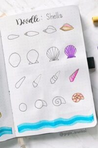bullet journal doodles 3
