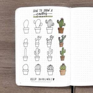 bullet journal doodles 4