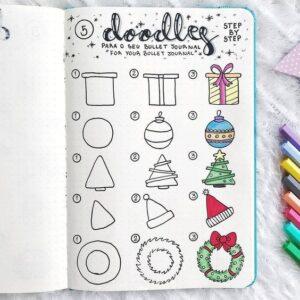 bullet journal doodles 5