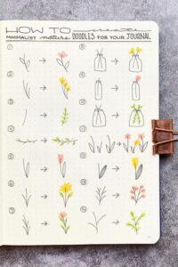 bullet journal doodles 6