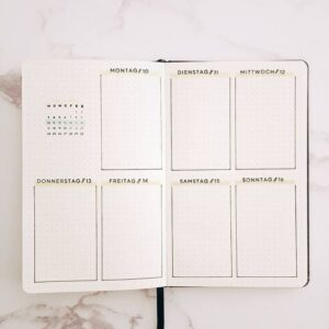 bullet journal plantilla semanal 15