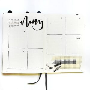 bullet journal plantilla semanal 2