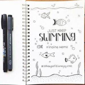 bullet journal plantillas verano 2
