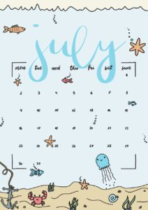 bullet journal plantillas verano 5