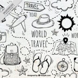 bullet journal plantillas viajes 10