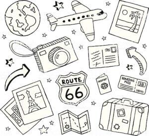 bullet journal plantillas viajes 9
