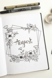 bullet journal portada plantillas 2
