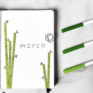 bullet journal portada plantillas 6