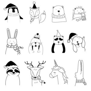 doodles animales 2