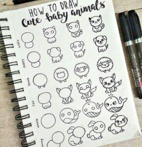 doodles animales 3