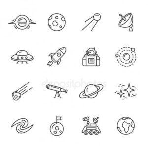 doodles espacio 2