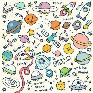 doodles espacio 5