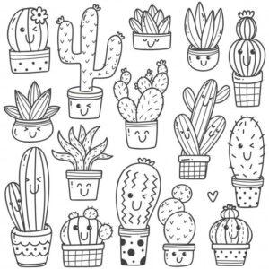 doodles flores 3