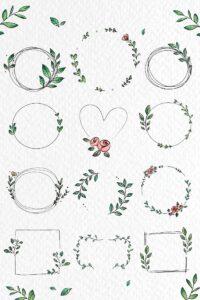 doodles flores 4