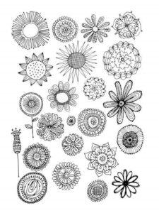 doodles flores 5