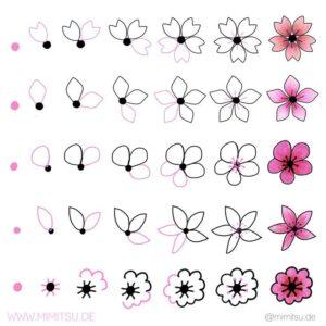 doodles flores 6