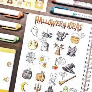 doodles halloween 1