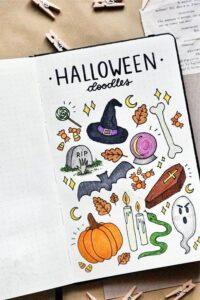 doodles halloween 3