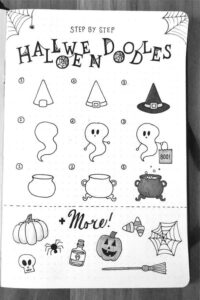 doodles halloween 6
