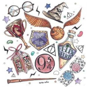 doodles harry potter 6
