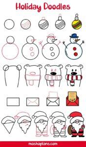 doodles navidad 11