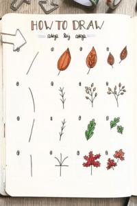 doodles otoño 4