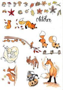 doodles otoño 5