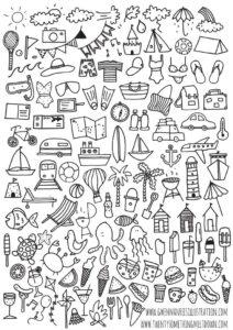 doodles verano 1
