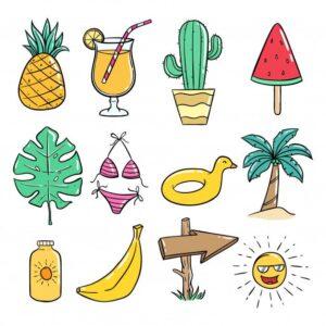 doodles verano 2