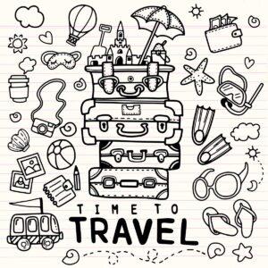 doodles viajes 3