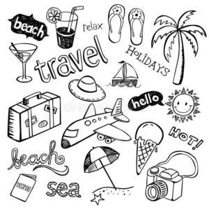 doodles viajes 4
