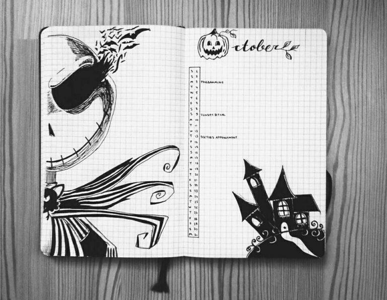 Bullet Journal Halloween 【2021】: ? ideas e inspiración ?
