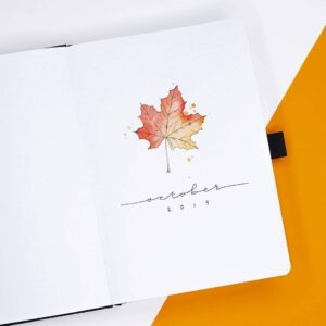 bullet journal otoño octubre