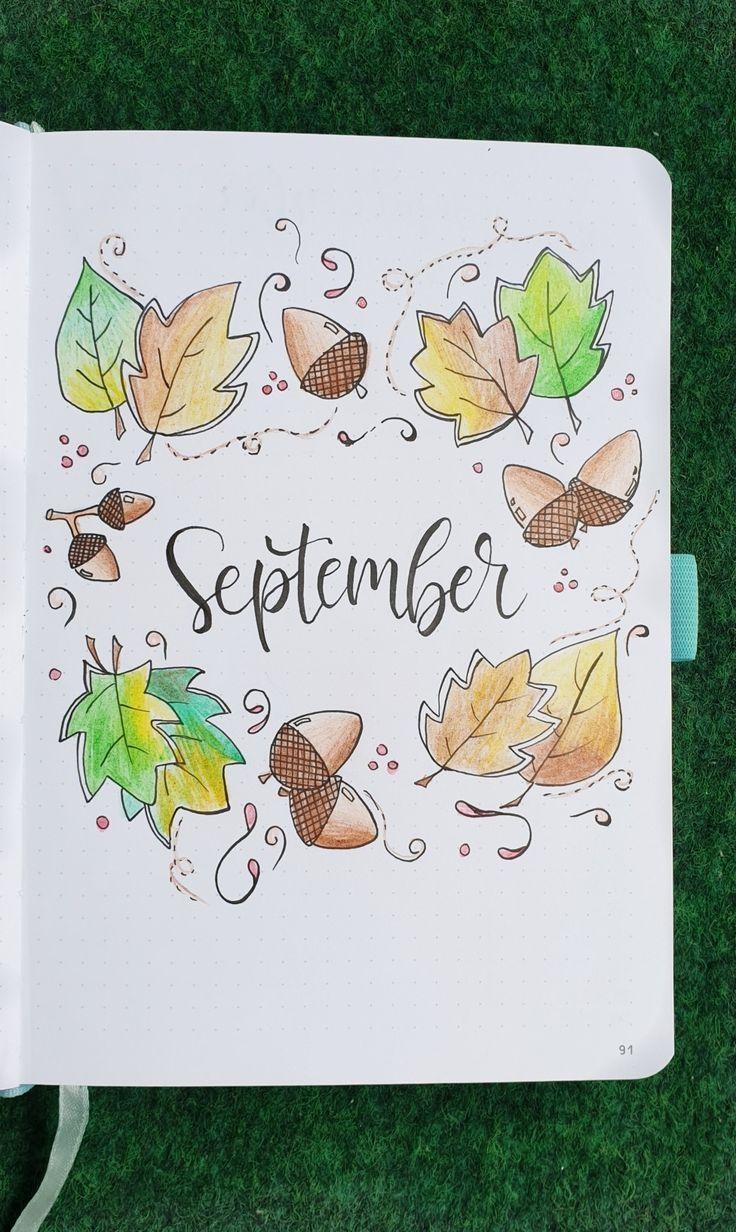 bullet journal otoño septiembre