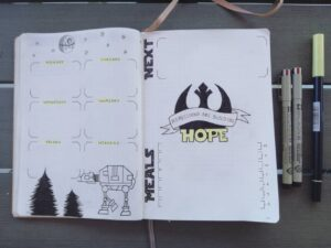 bullet journal películas 2