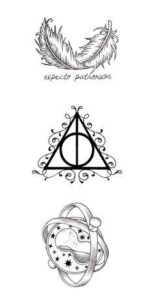 plantillas harry potter 11
