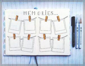 bullet journal viajes recuerdos